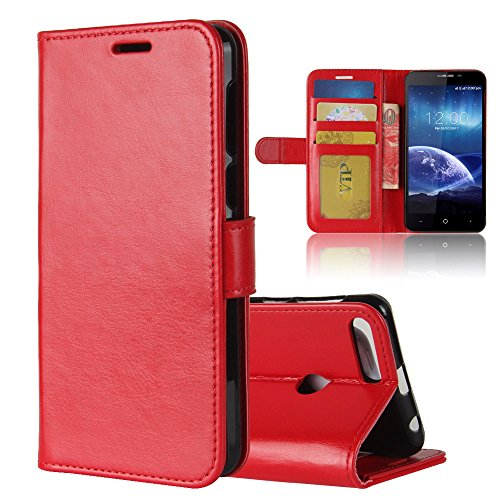 - Leagoo Kiicaa Power Case,Leagoo Kiicaa Power Case,Excellent Premium PU Leather Wallet Snap Case Excellent Excellent Flip Cover for Leagoo Kiicaa Power Red