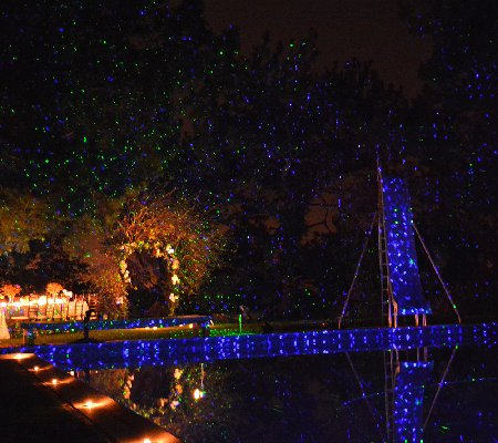 BlissLights Motion Laser Color Light - Blue
