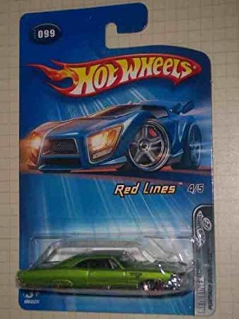 Red Lines 2005 Series 4 Pontiac Bonneville Malaysia 99 Collectible Collector Car Mattel Hot Wheels Amazoncouk Toys Games