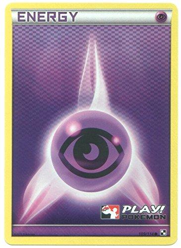 (Pokemon Psychic Energy - Holo-Foil Card (Black & White #109/114) Play! Pokémon League Promo)