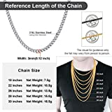 Stainless Steel Men's and Women's Cuban Link Curb