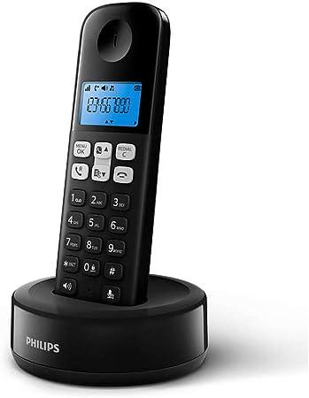 Teléfono inalámbrico philips d1311/90 Color Negro.: Amazon.es: Electrónica