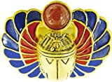 Sale - Egyptian Scarab Amulet Pin/pendant with Carnelian, From Our Museum Store Collection