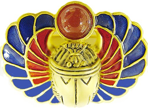 Sale - Egyptian Scarab Amulet Pendant with Carnelian, from Our Museum Store Collection