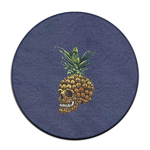 Pineapple Skull Home Welcome Doormat