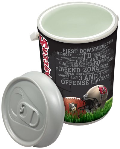 - NFL Tampa Bay Buccaneers Insulated Mega Can Cooler, 5-Gallon