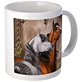 CafePress - Arabian Horse Mugs - Unique Coffee Mug, Coffee Cup