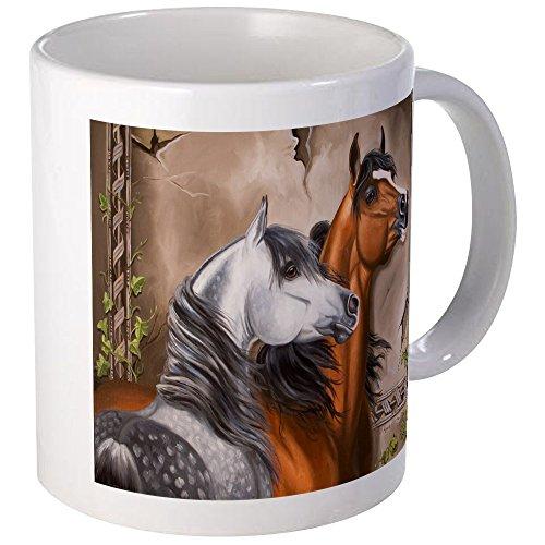 CafePress - Arabian Horse Mugs - Unique Coffee Mug, Coffee Cup by CafePress