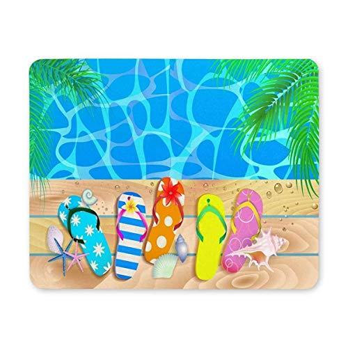 Gaming Mouse pad,Mouse Pad Slippers Computer Mouse Pad with Designs