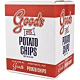 """Good's Potato Chips (Home-Style """"Red Bag"""", One 2 lb. Box)"""