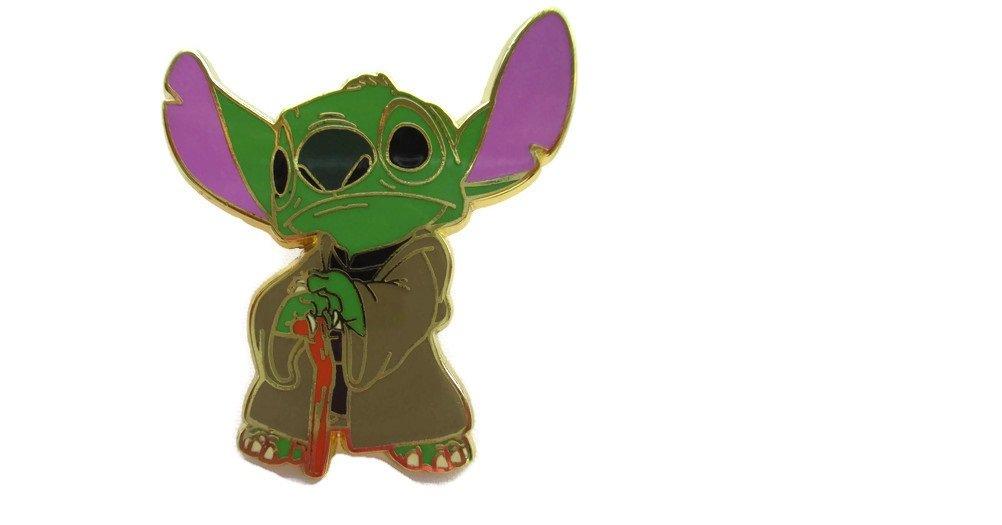 DISNEY PIN DLRP Star Wars Stitch as Yoda
