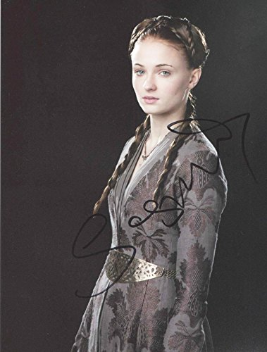 SOPHIE TURNER - Game of Thrones - Signed 8x10 Photograph MINT with COA & Proof Picture
