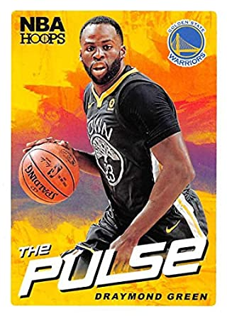 2018-19 NBA Hoops The Pulse  12 Draymond Green Golden State Warriors  Official Trading 2559f83d6