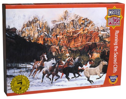 Running by the SacROT Cliff Jigsaw Puzzle 1000pc by Running master piece 0c5344
