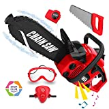 Kids Construction Toy Power Tools Chainsaw Play Set, Boys Pretend...