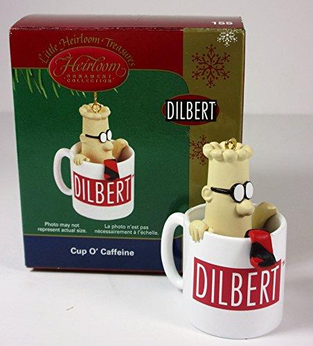 Dilbert - Cuo O' Caffeine 2005 Carlton Cards Christmas Ornament (Dilbert Card Christmas)