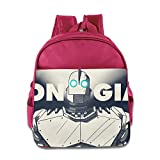 Toddler Kids The Iron Giant School Backpack Style Baby Boys Girls School Bags Pink
