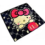 Ustide Hello Kitty Rug Kids Playing/Crawling Mat Living Room Carpet 57  x75  ,Dark Blue