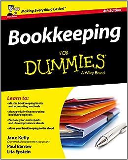 Bookkeeping For Dummies Amazon Co Uk Jane E Kelly Paul Barrow