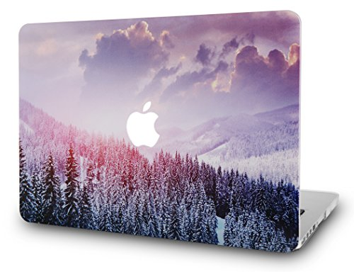 Hard Plastic Shell Case (KEC MacBook Pro 13 Case 2017 & 2016 Plastic Hard Shell Cover A1706 / A1708 with/without Touch Bar (Snow Mountain 2))