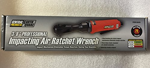 Earthquake 3/8 in. Impacting Air Ratchet Wrench Item#68426 UPC# 792363684262