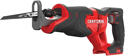 CRAFTSMAN V20 Reciprocating Saw, Cordless, Tool Only CMCS300B