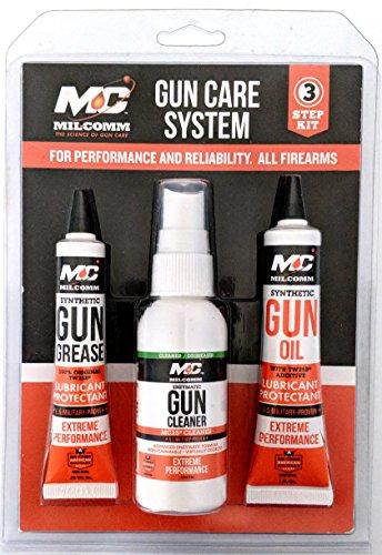 Mil-Comm Three-Step Gun Care Kit - Licensed Gun Care System