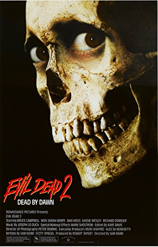 Evil Dead 2 Dead by Dawn Movie Poster  24x36