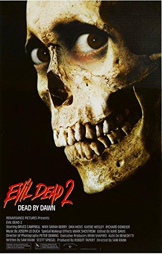 - Evil Dead 2 Dead by Dawn Movie Poster (1987) 24x36