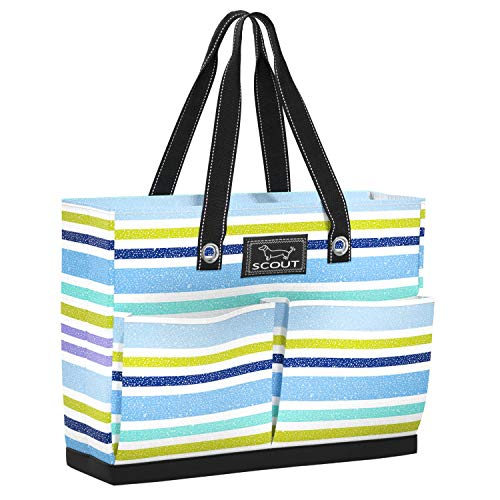 (SCOUT UPTOWN GIRL Medium Tote Bag for Women, Lightweight Utility Tote Bag with Pockets and Zippered Closure, Perfect Teacher Tote Bag or Nurse Tote Bag)