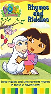 Amazon Com Dora The Explorer Rhymes And Riddles Vhs