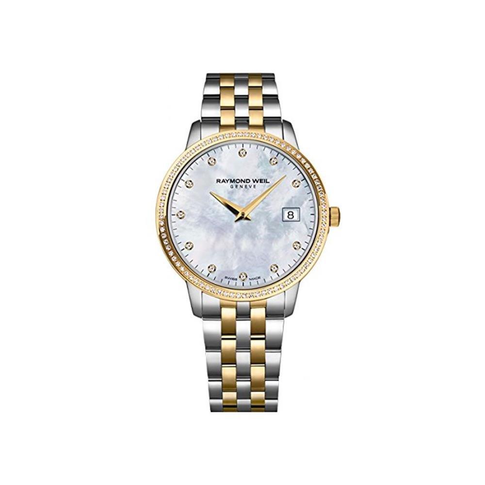 Amazon.com: Reloj Raymond Weil para mujer, de acero ...