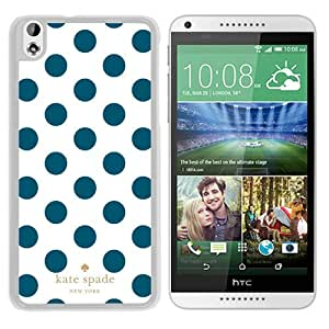 Unique Custom Designed Kate Spade Cover Case For HTC Desire 816 White Phone Case 298