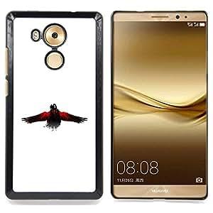 For Huawei Mate 8 - The Crow Raven /Modelo de la piel protectora de la cubierta del caso/ - Super Marley Shop -