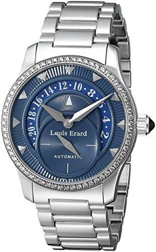 Louis Erard Women's 92600SE05.BMA16 Emotion Automatic Diamond Stainless-steel Date Watch
