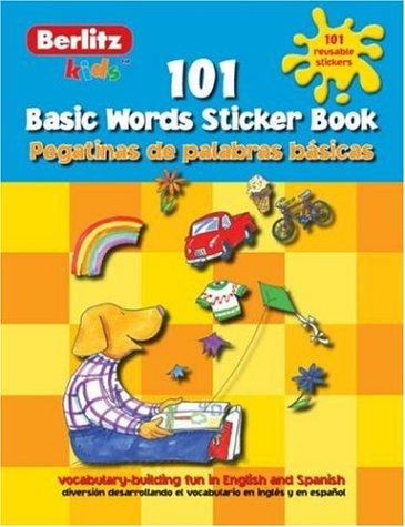 Spanish Basic Words Berlitz Kids Sticker Book (Berlitz Kids Sticker Books S.) por Chris Demarest