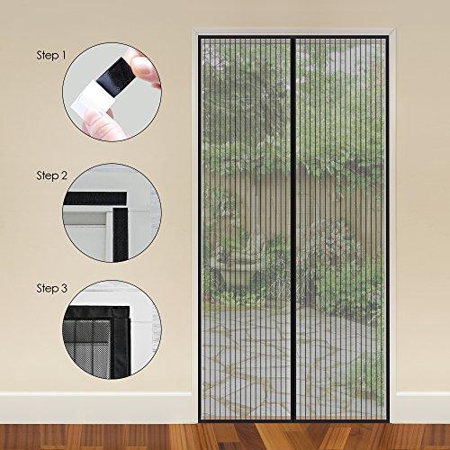 Magnetic Screen Door My Carbon Fly Screen Doors Simple