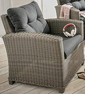 Amazonde Destiny Loungesessel Riviera Vintage Weiß Lounge Sessel