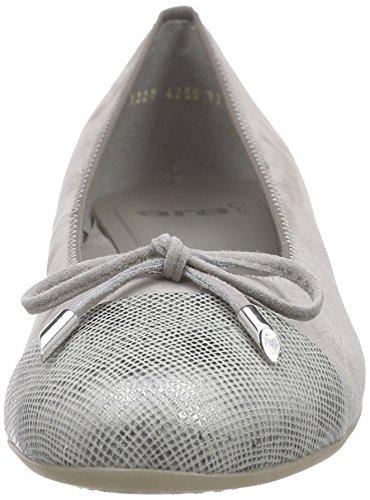 Ara Bari, Damen Geschlossene Ballerinas Grau (grijs / Light 11)