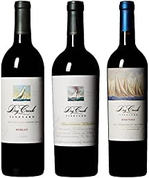Dry Creek Vineyard Sonoma County Signature Red Wines Mixed Pack, 3 x 750 mL