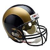 Riddell NFL St. Louis Rams Deluxe Replica Football Helmet