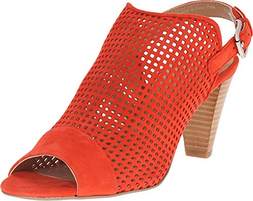 Dress Eloise Orange Sandal Tahari Blood Suede Women's wEzRnq7a