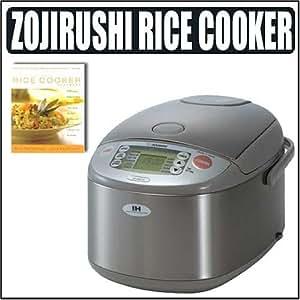 Amazon.com: Zojirushi Stainless Steel 5-1/2-Cup Rice