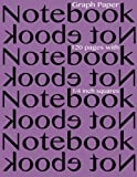 Graph Paper Notebook ¼ Inch Squares 120 Pages, Spicy Journals, 1497373751