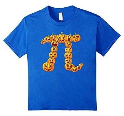 Pumpkin Pi Algebra Math Symbol Funny Halloween T-shirt