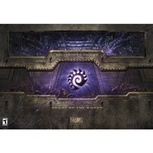 StarCraft II: Heart of the Swarm -Collector's Edition (Starcraft Ii Heart Of The Swarm Collectors Edition)