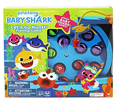 Baby Shark Fishing Game with Song