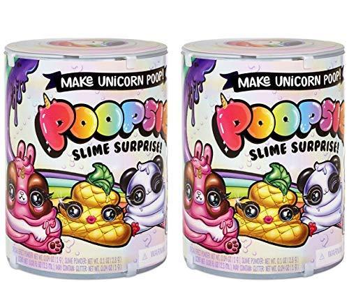 Toy Girls Plush HOT Seller (1) Poopsie Surprise Slime,(1) Unicorn Oooze Bundle of 2