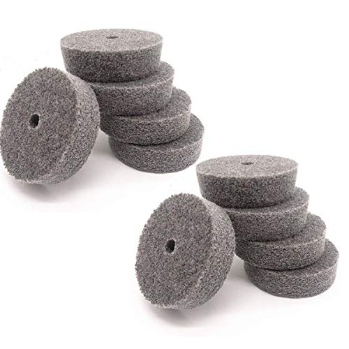5Pcs 4 Nylon Fiber Buffing Polishing Wheel Sanding Abrasive Disc red 9P for Angle Grinders 10016