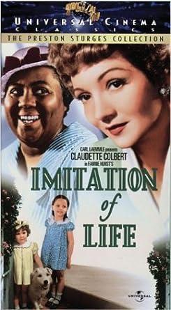 Amazoncom Imitation of Life VHS Claudette Colbert Warren